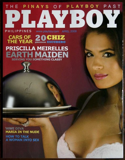 "Playboy Philippines launched: Features ""WWE Diva Maria in the Nude"""