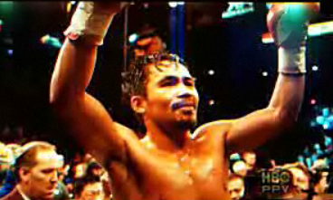 Pacquiao Wins in 8th Round vs Dela Hoya